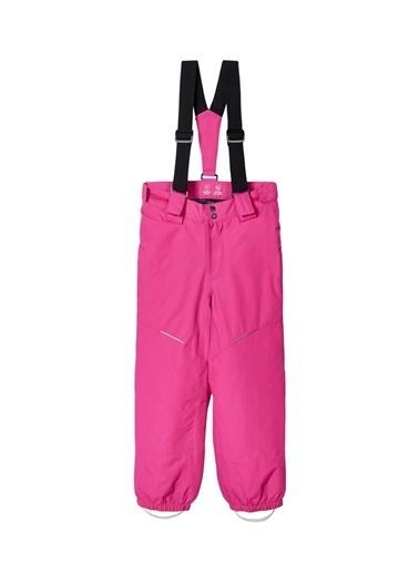 Name It Name İt 13177631 Su ve Rüzgar Geçirmez Kız Çocuk Kayak Pantolonu Fuşya